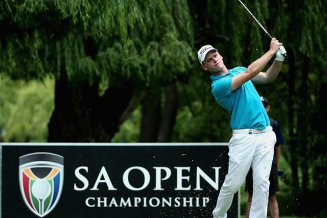 今季初戦を制したマドセンが11年ぶりの母国大会に凱旋出場する(Getty Images)※撮影は2014「南アフリカオープン」