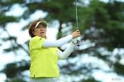 2014年 NEC軽井沢72ゴルフトーナメント 初日 福嶋晃子