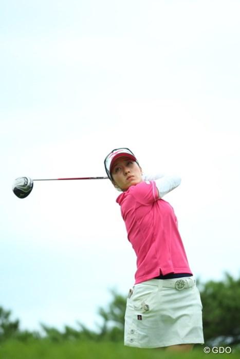 いつぶりですか? 2014年 NEC軽井沢72ゴルフトーナメント 初日 久保宣子