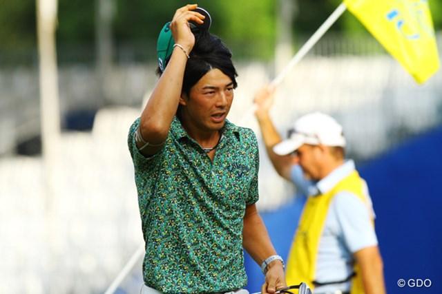 2014年 ウィンダム選手権 2日目 石川遼 米ツアー自己ベストとなる「62」をマークした石川遼だが、「まだ2日目」と冷静だ。