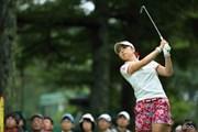2014年 NEC軽井沢72ゴルフトーナメント 最終日 菊地絵理香