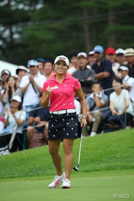 「NEC軽井沢72ゴルフトーナメント」イ・ボミの優勝ギア 今季3勝目は得意のプレーオフで果たしたイ・ボミ。これでプレーオフ4戦全勝の強さを見せた