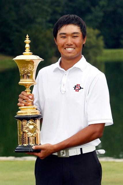韓国人として史上2人目の全米アマチャンピオンとなったガン・ヤン (Butch Dill/Getty Images)