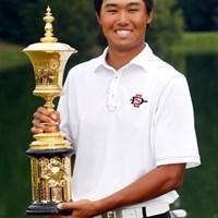 韓国人として史上2人目の全米アマチャンピオンとなったガン・ヤン (Butch Dill/Getty Images) 2014年 全米アマ最終日 ガン・ヤン