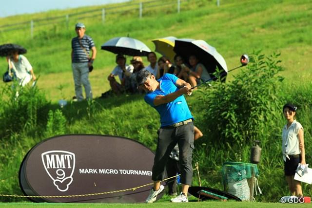 競技ゴルフ初参加となったホリエモン。参加することに意義がある!?