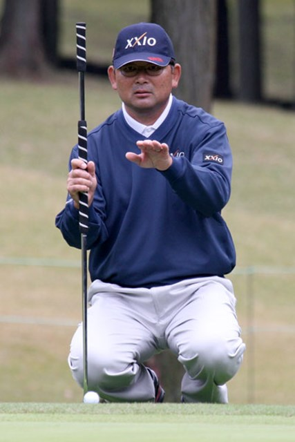 ディフェンディングチャンピオンの中嶋常幸も、18位タイで余裕の予選突破