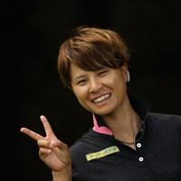 最終組のギャラリーにイケメン女子プロが! 2014年 CAT Ladies 最終日 永田あおい