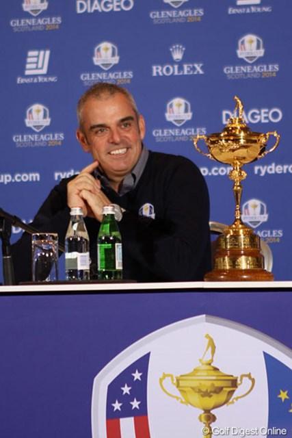 チーム決定へマギンリー主将に決断の時が迫る(Getty Images)※14年1月「アブダビHSBCゴルフ選手権」で撮影