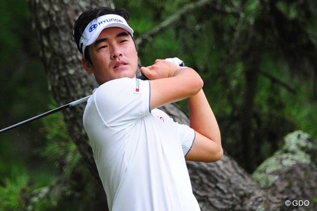 2014年 アールズエバーラスティングKBCオーガスタゴルフトーナメント  初日 キム・ヒョンソン 8バーディを量産! 単独首位スタートを切ったキム・ヒョンソン