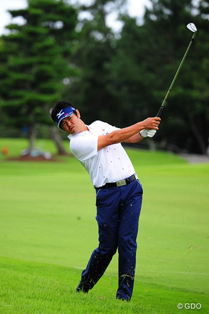2014年 アールズエバーラスティングKBCオーガスタゴルフトーナメント  初日 武藤俊憲 3ヶ月ぶりのツアー復帰戦で3アンダーを出した武藤俊憲