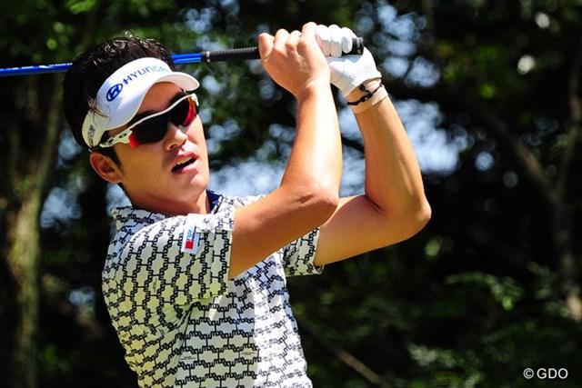 2014年 アールズエバーラスティングKBCオーガスタゴルフトーナメント  3日目 キム・ヒョンソン 初日から首位の座をキープ! 完全優勝に王手をかけたキム・ヒョンソン