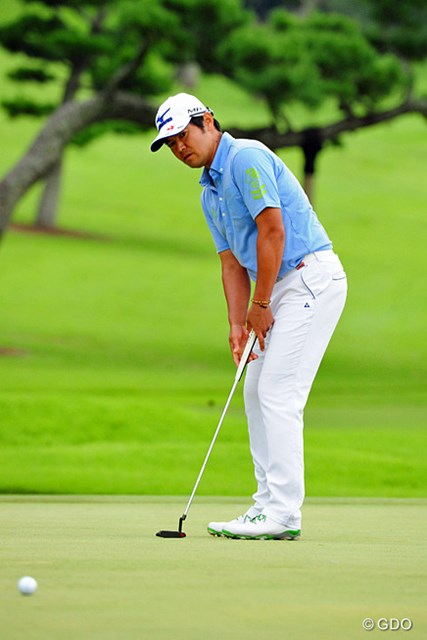 2014年 アールズエバーラスティングKBCオーガスタゴルフトーナメント  最終日 武藤俊憲 終盤のバーディチャンスを決められず復帰戦での優勝は果たせなかった