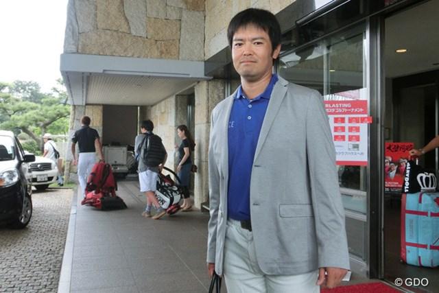 「コースに来る日は毎日もってきますよ」という武藤俊憲