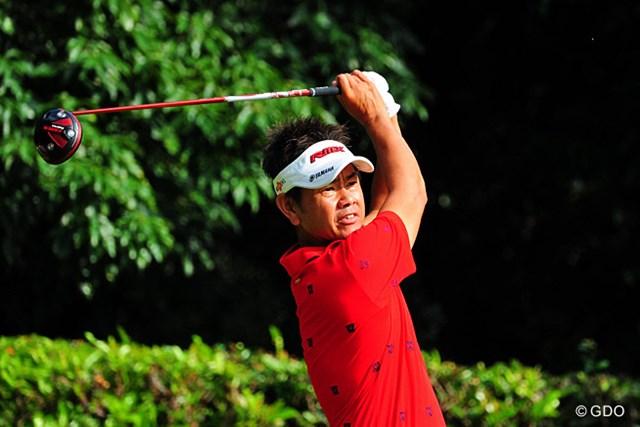 2014年 アールズエバーラスティングKBCオーガスタゴルフトーナメント  最終日 藤田寛之 藤田寛之は5ホールに及ぶプレーオフを制し今季2勝目を挙げた