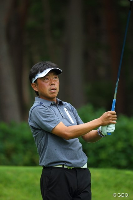2014年 フジサンケイクラシック 初日 谷古宇智紀 僕の師匠。昔ゴルフ教わってました。