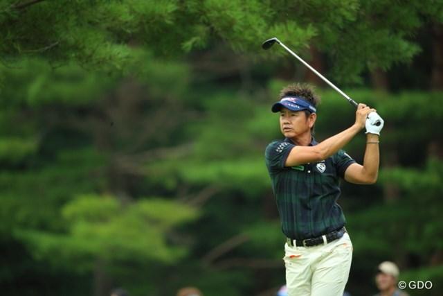 2014年 フジサンケイクラシック 初日 藤田寛之 安定したゴルフをずっと続けてるって今更だけど凄い!