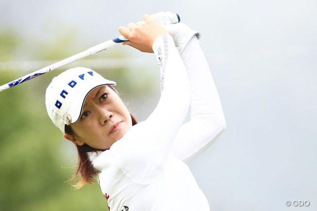 2014年 ゴルフ5レディスプロゴルフトーナメント 初日 李知姫 2週間ぶりにツアー復帰の李知姫は首位と2打差3位
