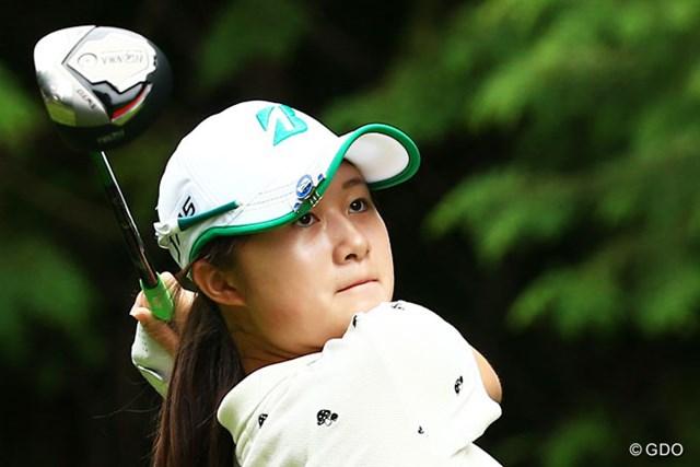 2014年 ゴルフ5レディスプロゴルフトーナメント 初日 森田遥 「上位に行きたい」森田遥は練ランなしでアンダーをマーク