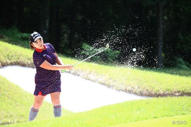 2014年 ゴルフ5レディスプロゴルフトーナメント 2日目 吉田弓美子 3位Tでもトップとは8打差、逆転で連覇なるかな