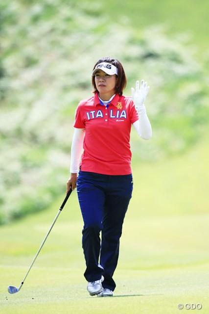 2014年 ゴルフ5レディスプロゴルフトーナメント 2日目 大山志保 トータル16アンダー恐るべし