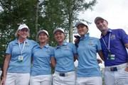 2014年 世界女子アマチュアチーム選手権 最終日 オーストラリアチーム