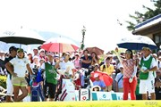2014年 ゴルフ5レディスプロゴルフトーナメント 最終日 大山志保 成田美寿々 香妻琴乃