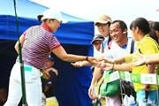 2014年 ゴルフ5レディスプロゴルフトーナメント 最終日 申ジエ