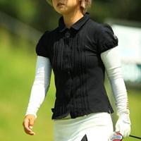 初めて撮りました。顔を知らなかったのですが「石川陽子ってどんな選手?」ってカメラマンに聞いたら、「エヴァンゲリオンみたいな感じ。」ですって。まぁ確かにね。 2014年 日本女子プロゴルフ選手権大会コニカミノルタ杯 3日目 石川陽子