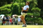 2014年 日本女子プロゴルフ選手権大会コニカミノルタ杯 3日目 成田美寿々