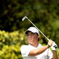 フィリピンの19歳ミゲル・タブエナが3日目、首位に立った(アジアンツアー提供) 2014年 Yeangderトーナメントプレーヤーズ選手権 3日目 ミゲル・タブエナ