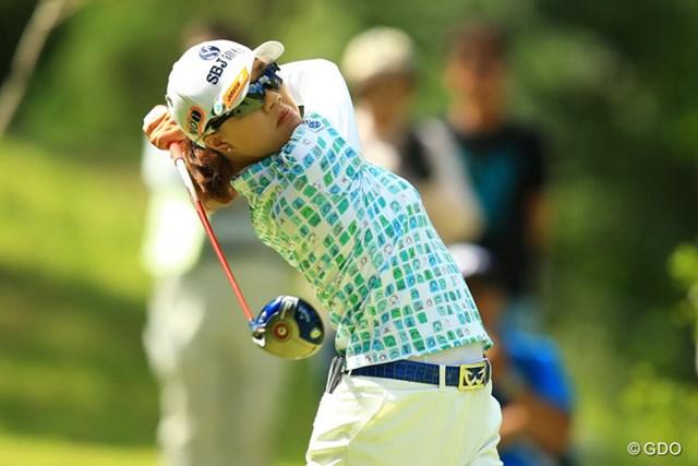 2014年 日本女子プロゴルフ選手権大会コニカミノルタ杯 4日目 リ・エスド 7番Par5でイーグルを奪うなど、68のスーパーラウンドで単独6位フィニッシュです。