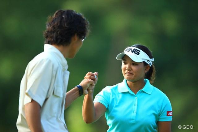 2014年 日本女子プロゴルフ選手権大会コニカミノルタ杯 4日目 鈴木愛 17番バーディ!!優勝を引き寄せる1打でしたね。