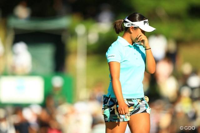 2014年 日本女子プロゴルフ選手権大会コニカミノルタ杯 4日目 鈴木愛 思わず涙も出ちゃいますね。