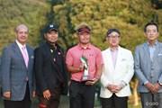 2014年 片山晋呉インビテーショナル ネスレ日本マッチプレー選手権 最終日 表彰式