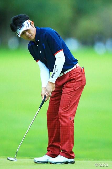 2014年 ANAオープンゴルフトーナメント 初日 近藤共弘 パッティングが冴えて7アンダーをマークした近藤共弘