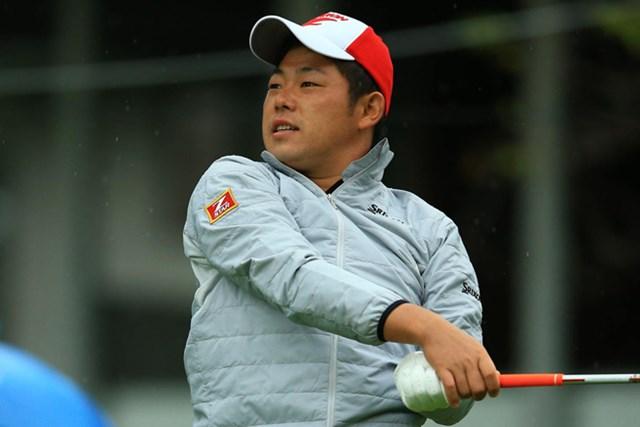 2014年 ANAオープンゴルフトーナメント 初日 小池一平 パッティングがなぜか好調という小池が暫定首位タイの7アンダーをマーク