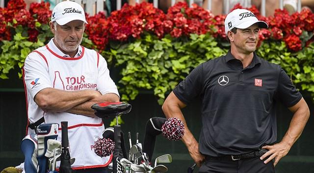 アダム・スコットとのコンビ解消を発表したスティーブ・ウィリアムス氏(PGA TOUR)