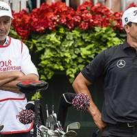 アダム・スコットとのコンビ解消を発表したスティーブ・ウィリアムス氏(PGA TOUR) 2014年 アダム・スコットとスティーブ・ウィリアムス