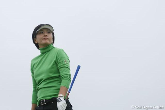 プレーオフ2ホール目で破れ、今季2勝目はならなかった茂木宏美