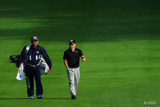 2014年 ANAオープンゴルフトーナメント 2日目 藤本佳則 ツアー内でも人気の藤本佳則は3年目にして風格あり!?