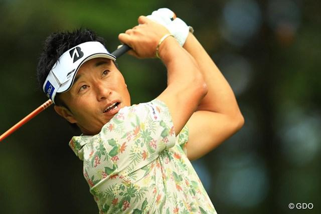 2014年 ANAオープンゴルフトーナメント 3日目 宮本勝昌 この日「68」で回って首位タイに浮上した宮本勝昌。2010年以来の勝利なるか!?