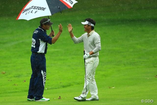 2014年 ANAオープンゴルフトーナメント 3日目 宮本勝昌 17番チップインイーグル!!
