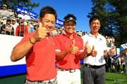 2014年 ANAオープンゴルフトーナメント 最終日 藤田寛之 宮本勝昌 上井邦浩