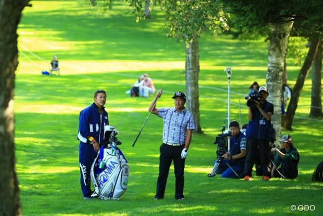 2014年 ANAオープンゴルフトーナメント 最終日 谷原秀人 プレーオフのティショットは左ラフへ