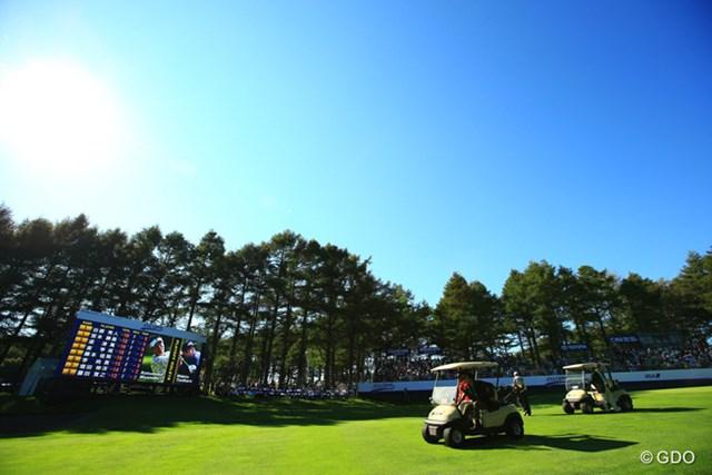 2014年 ANAオープンゴルフトーナメント 最終日 プレーオフ 両者譲らず。18アンダーで並び、戦いはプレーオフへ
