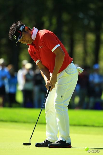 2014年 ANAオープンゴルフトーナメント 最終日 宮本勝昌 プレーオフでは劇的なバーディパットで勝負を決めた