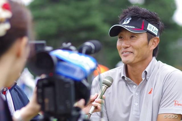 2014年 アジアパシフィックオープンゴルフチャンピオンシップ ダイヤモンドカップゴルフ 事前 宮本勝昌 前週優勝の余韻も感じさせつつ、宮本勝昌が2週連続優勝へ挑む