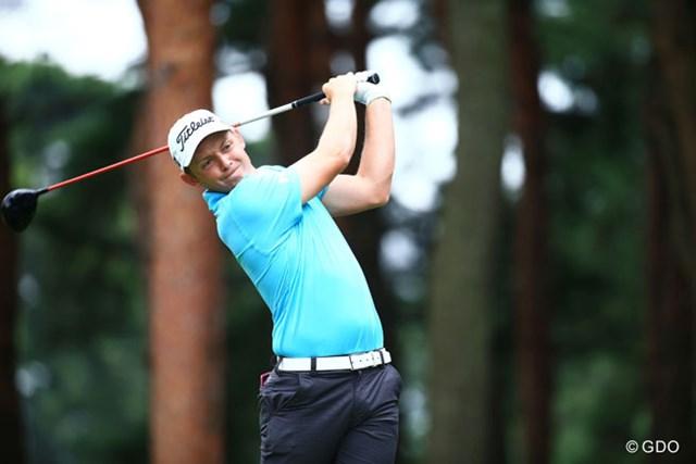 2014年 アジアパシフィックオープンゴルフチャンピオンシップ ダイヤモンドカップゴルフ 初日 キャメロン・スミス 豪州出身の21歳が初日を牽引。単独首位スタートを切ったC.スミス