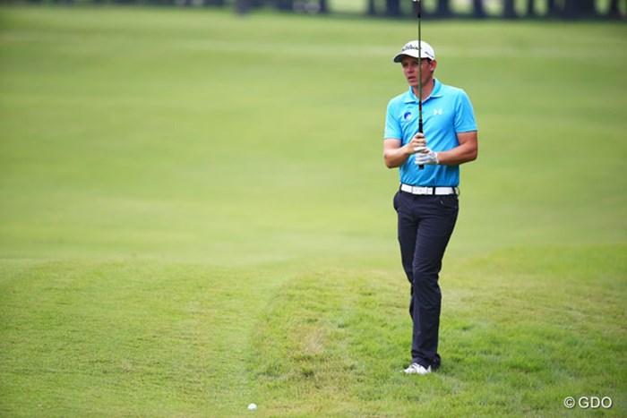 キャメロン・スミス 5アンダー単独トップ、オーストラリアの選手です 2014年 アジアパシフィックオープンゴルフチャンピオンシップ ダイヤモンドカップゴルフ 初日 キャメロン・スミス