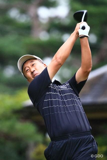 2014年 アジアパシフィックオープンゴルフチャンピオンシップ ダイヤモンドカップゴルフ 初日 S.K.ホ 隣のコースで優勝経験あり。大利根マスター?のS.K.ホ